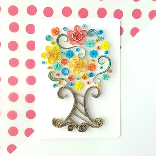 Hand made decorative cards-Lucky tree