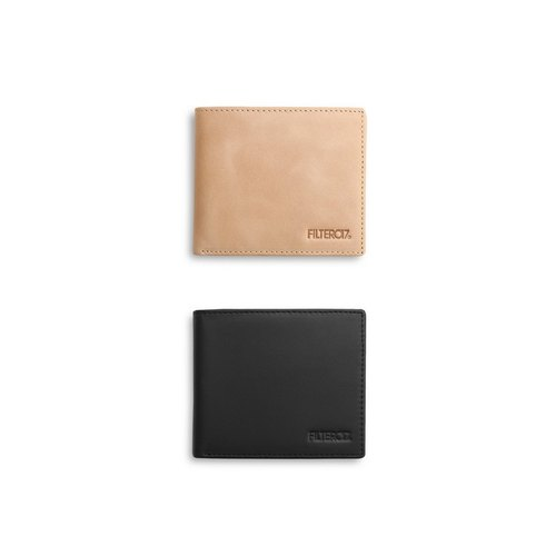 Filter017 Leather Wallet 真皮短夾