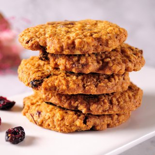 [Chebery CHAMBERY] Rustic Berry Oatmeal Cookies/Natural Cream Handmade/With Hand