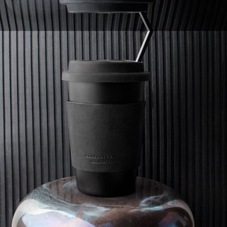 Stainless steel coffee cup take-out set