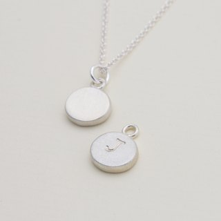 Mini Round Tag Necklace
