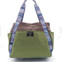 683367bd2c53 Shoulder Strap design Nylon bag – light blue pattern design