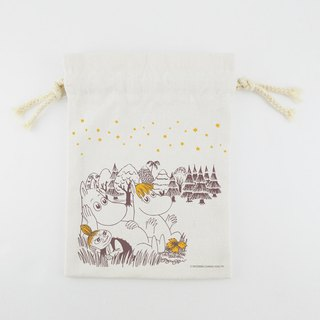 Moomin Moomin authorization - Pouch (Large): [A Midsummer Night]