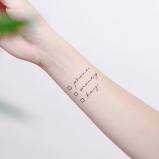 Surprise Tattoos / Daily List Temporary Tattoo