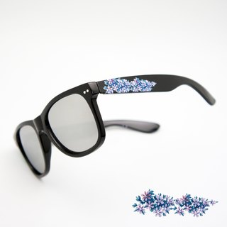 BLR sunglasses  purple flower