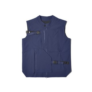 oqLiq - AdHeRe - Disassemble Pocket Tai Chi Tactical Vest (Blue)