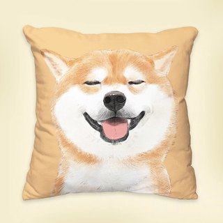 [I will always love you] classic Chai Chai dog animal pillow / pillow / cushion