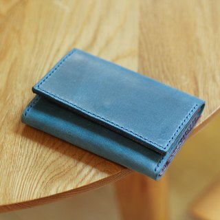 Make Your Choicesss Italian leather bag handmade cards - Card Holder