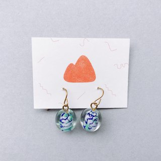 Weather Cloud - Pin/Clip Earrings