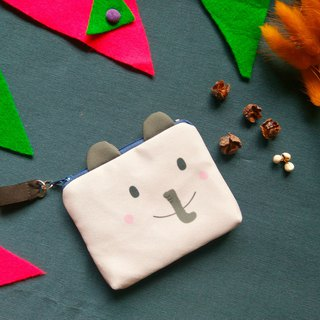 Elephant card set purse