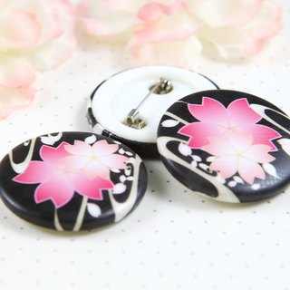 Night Sakura 32mm Badge