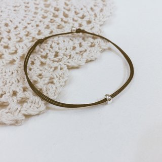 Charlene💕 traction bracelet 💕 - Jewelry sizes are S, M, L, this page S + dark coffee thin line