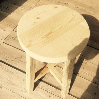 [Bear Ken Woodworking Workshop]//Customized// Circular Stool