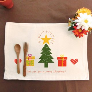 Xmas│ Make your table canvas placemat