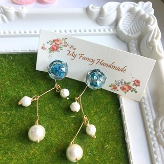 *My Fancy Handmade*flower earring