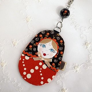 Matryoshka Pass Case · Autumn / A (MP-119)