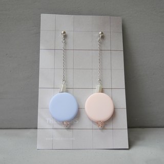 Marshmallow Jumbo Four Earrings - 003