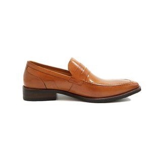 Kings Collection หนังแท้ Danforth Classic Loafer KV80073 สีน้ำตาล