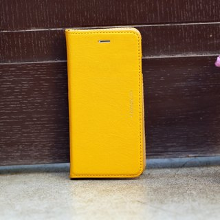 iPhone 6 /6S /4.7 inch Slipcase Series Leather Case - Yellow