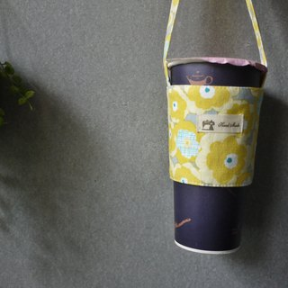 Beverage bag poppy (pendant yellow)