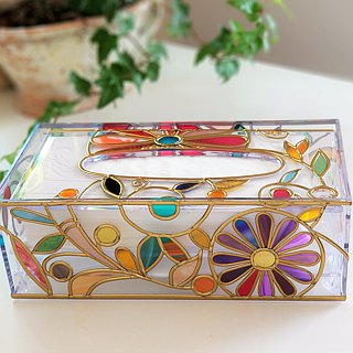 Order GlassArt made Tissue Paper Case Summer Banquet