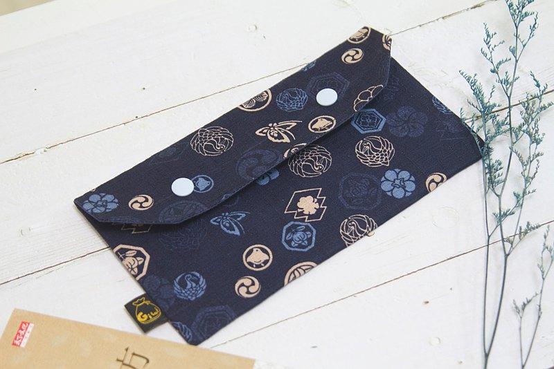 【Gi LAI】口罩收納袋/萬用小袋仔/Mini Pouch-日式和風家徽