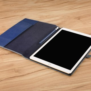APPLE iPad PRO 12.9 & 12.9 (2017 version) notebook PDA-style hard shell leather case made