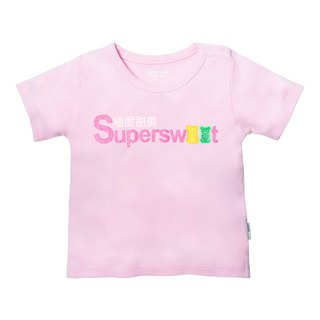Baby Girl Baby Tee Supersweet