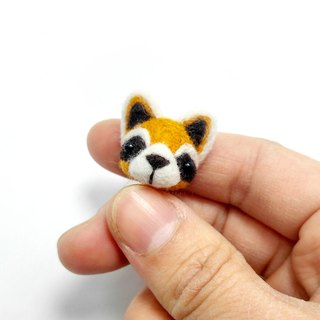 <Wool felt> Raccoon (S Size) by WhizzzPace