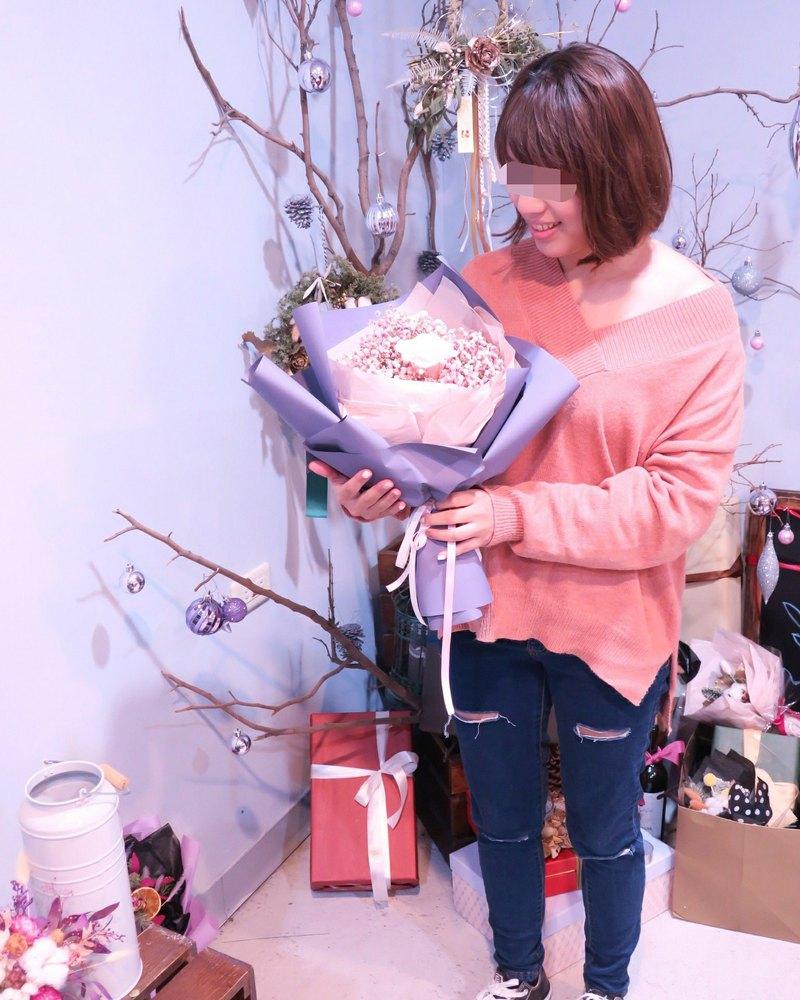 One Flower Korean Flower Bouquet Big Flower Star Immortal Rose
