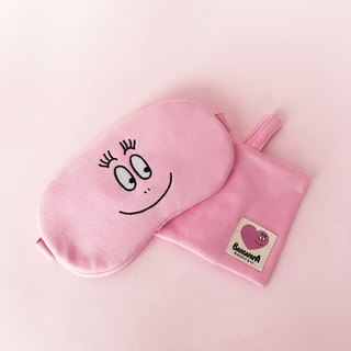 [BARBAPAPA bubble] cotton comfortable eye mask, genuine authorized card answer international