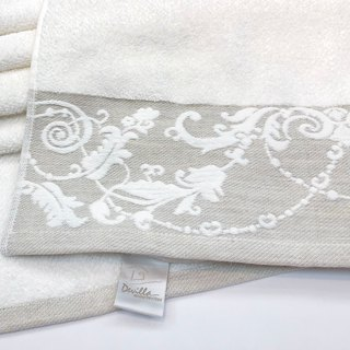 Wisteria Garden - Portugal Import I Textured Thick Hand I Hair Towel I Bath Towel I Towel Single