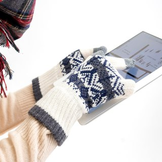 tooti pattern gloves