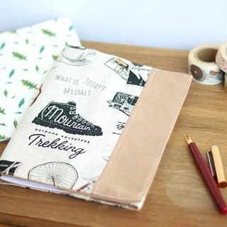 Handmade Handmade. Hand travel book / book clothing. Christmas, New Year gift