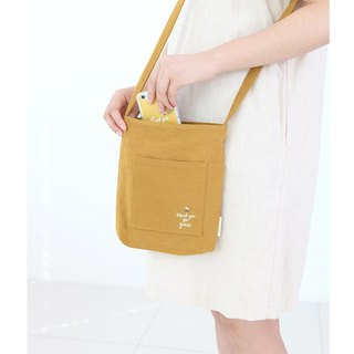 Flower Wen Qingfeng Shoulder Bag 02 Mustard Yellow