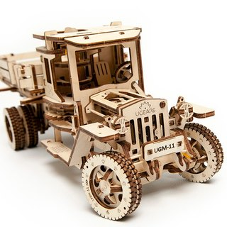 /Ugears/ Ukrainian wooden model four-wheel drive truck Truck UGM-11