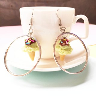 icecream earring new