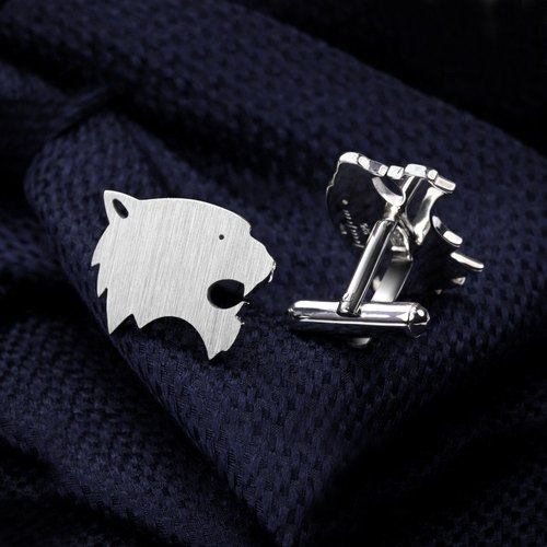 Tiger Cufflinks sterling silver - High quality men's accessories
