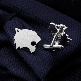 Tiger Cufflinks 925 sterling silver - Animal Cufflinks - Cat Cufflinks