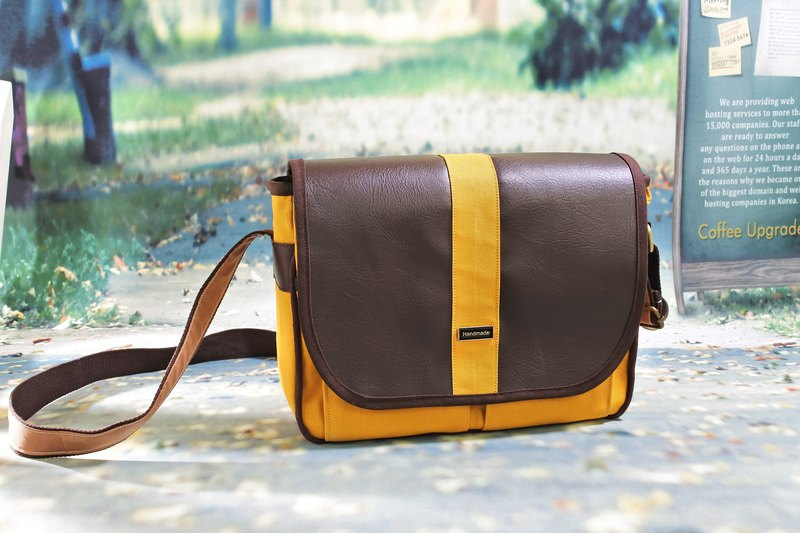 Simple and simple messenger bag shoulder bag oblique backpack commuter bag