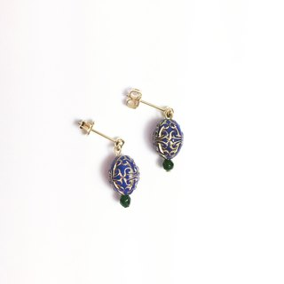 Low-key banquet needle-style earrings