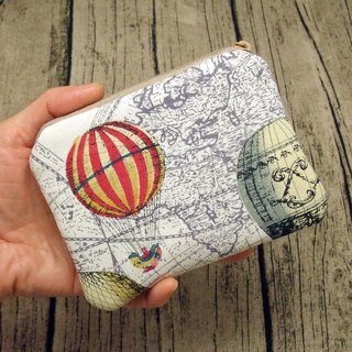 Zipper pouch / coin purse (padded) (ZS-240)