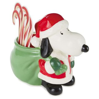 Snoopy Santa Candy Can [Hallmark Gift Christmas Series]