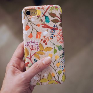 Herbal Her iPhone Case