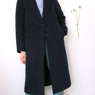 Slate Coat fitted with dark blue wool-breasted coat (can also be ordered in other colors)