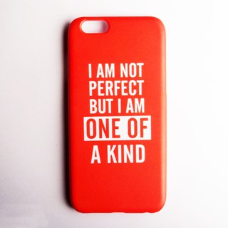 SO GEEK phone shell design brand THE MOTTO GEEK ONE OF A KIND models (red)