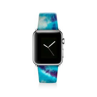 Tie dyed Apple watch band, Decouart Apple watch strap S037 (including adapter)