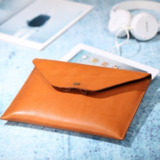 JIMMY RACING paper bags handmade leather pouch ipad protective sleeve