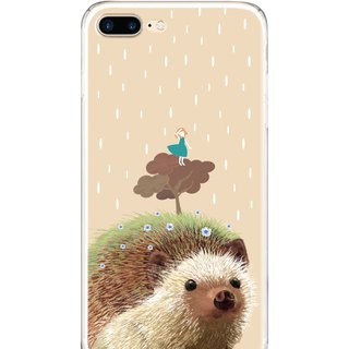 The little girl on the hedgehog - Samsung S5 S6 S7 note4 note5 iPhone 5 5s 6 6s 6 plus 7 7 plus ASUS HTC m9 Sony LG G4 G5 v10 phone shell mobile phone sets shell phone cases