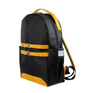 AMINAH-Lizard Yellow Light Ride Backpack [am-0305]
